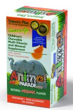 Animal Parade Orange, 180 Tab.